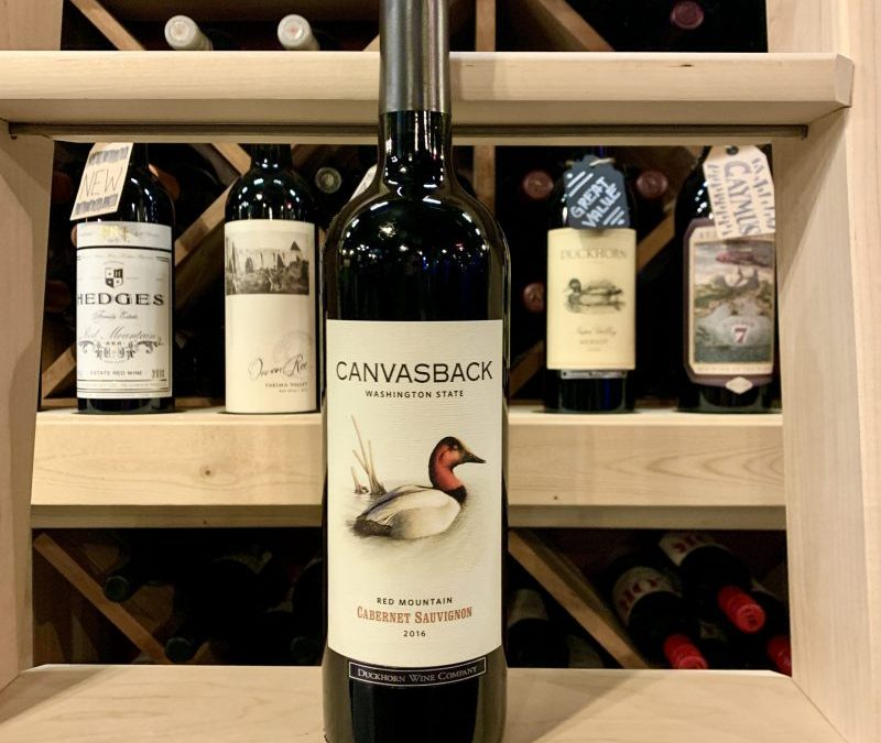 Canvasback 2016 Red Mountain Cabernet Sauvignon